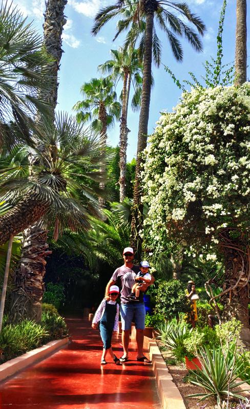 jardin majorelle marrakech avec des enfants que voir à marrakech ? Visiter jardin majorelle avec enfants blog maroc famille