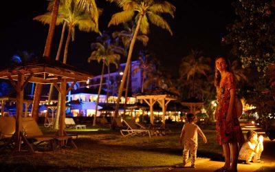 La Creole Beach and Spa Guadeloupe extérieur nuit (8)