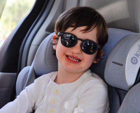 eliott voiture barbouille road trip avec enfant USA